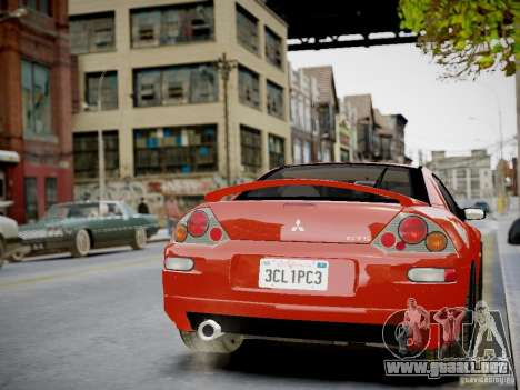 Mitsubishi Eclipse GT-S v1.0 para GTA 4 vista interior