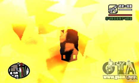 Vehículos RC para GTA San Andreas segunda pantalla