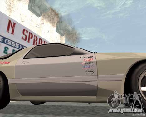 Mazda Savanna RX-7 FC3S para la visión correcta GTA San Andreas