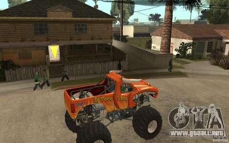 El Toro Loco para la visión correcta GTA San Andreas