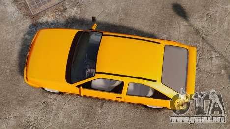 Opel Kadett GL 1.8 1996 para GTA 4 visión correcta