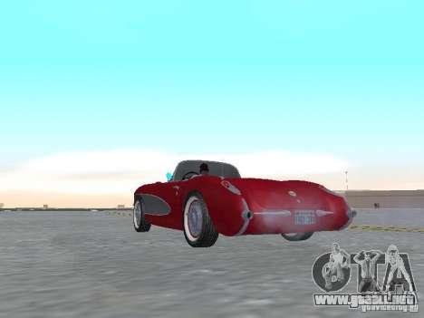 Chevrolet Corvette C1 para la visión correcta GTA San Andreas