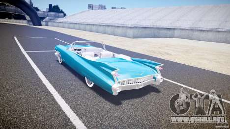 Cadillac Eldorado 1959 interior white para GTA 4 visión correcta