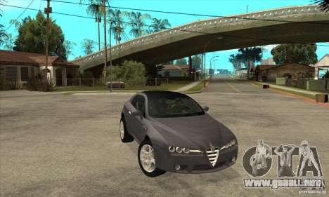 Alfa Romeo Brera de NFSC para GTA San Andreas vista hacia atrás