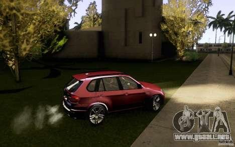 BMW X5M  2011 para la vista superior GTA San Andreas