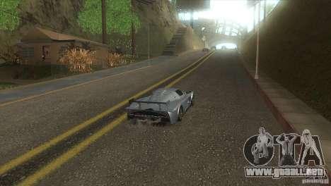 Carretera de calidad en el LS para GTA San Andreas sucesivamente de pantalla