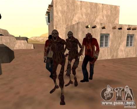 Zombie Half life 2 para GTA San Andreas octavo de pantalla