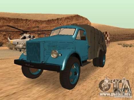 Camión GAZ 51 para GTA San Andreas