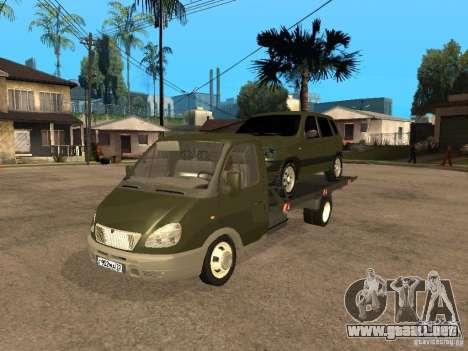 GAZ 3302 v 1.2 (gacela grúa) para GTA San Andreas