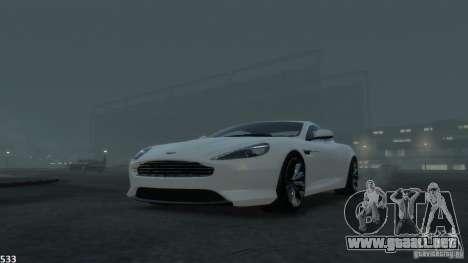 Aston Martin Virage 2012 v1.0 para GTA motor 4
