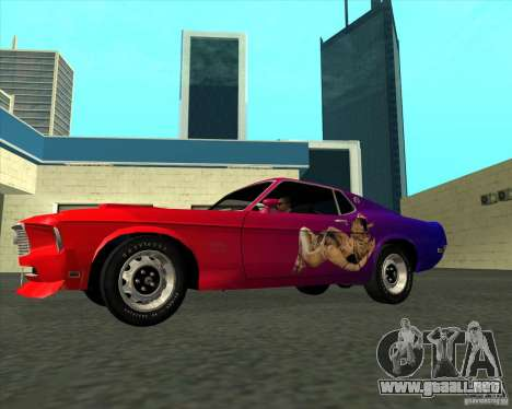 Ford Mustang Boss 429 1969 para GTA San Andreas