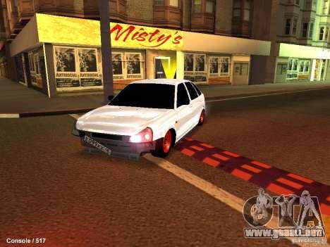 Lada 2170 Priora para GTA San Andreas left