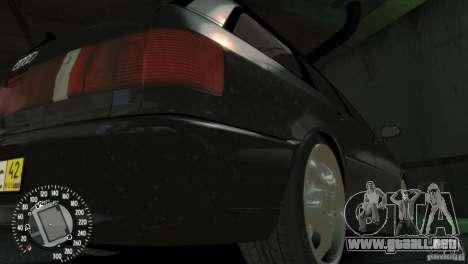 Audi RS2 Avant para GTA 4 vista interior