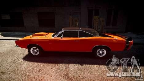 Deportivo Dodge cargador RT 1969 tun v1.1 para GTA 4 left