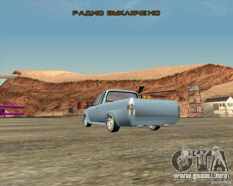 Toyota Hilux Surf Tuned para GTA San Andreas left