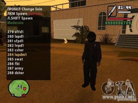 GTA IV peds to SA pack 100 peds para GTA San Andreas segunda pantalla