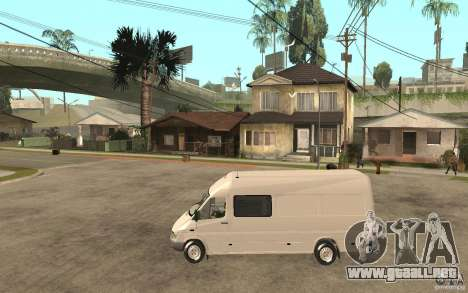 Mercedes-Benz Sprinter 313cdi para GTA San Andreas left
