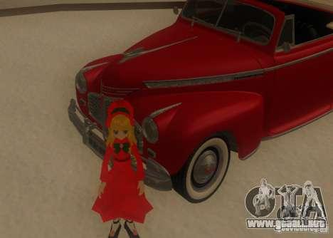 Anime Characters para GTA San Andreas sexta pantalla