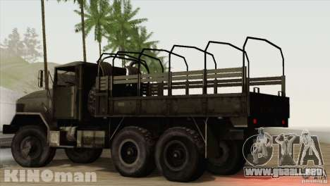 AM General m-939A2 1983 para GTA San Andreas left