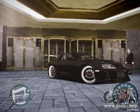 TOYOTA JZA80 SUPRA para GTA 4 left