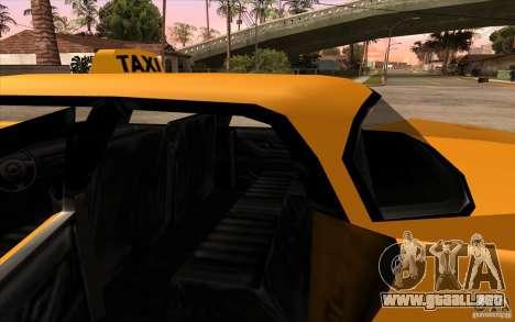 Glendale Cabbie para la visión correcta GTA San Andreas