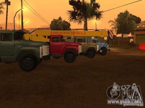 ZIL 133 para la visión correcta GTA San Andreas