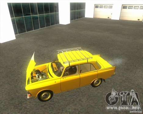 Moskvich 408 para la visión correcta GTA San Andreas