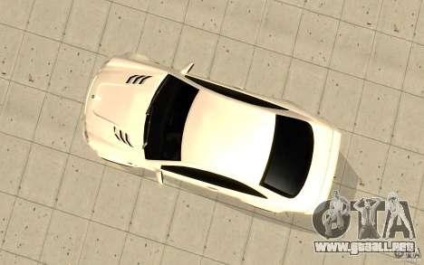 Mercedes-Benz CLK 500 Kompressor para GTA San Andreas vista hacia atrás