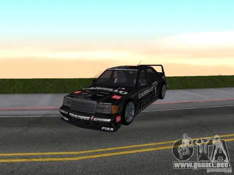 Mercedes-Benz 190E Racing Kit1 para GTA San Andreas