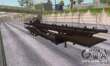 El camión de remolque para GTA San Andreas left
