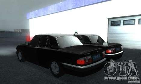 GAZ 31105 Volga abogado para GTA San Andreas left