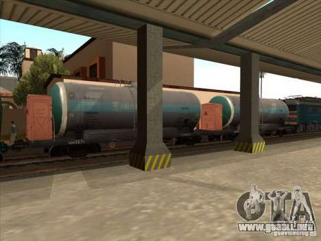 Tanque # 57929572 para GTA San Andreas left
