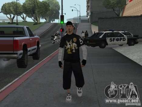 Cops skinpack para GTA San Andreas sucesivamente de pantalla