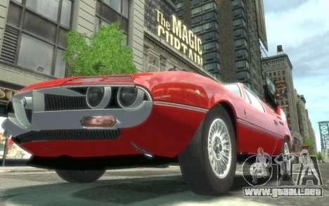 Alfa Romeo Montreal 1970 para GTA 4 visión correcta