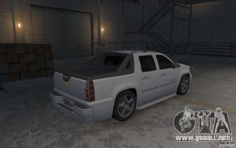 Chevrolet Avalanche v1.0 para GTA 4 visión correcta