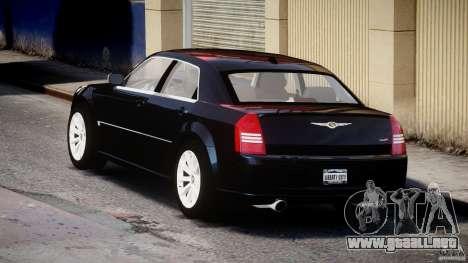 Chrysler 300C SRT8 para GTA 4 Vista posterior izquierda