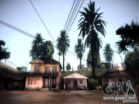 New trees HD para GTA San Andreas