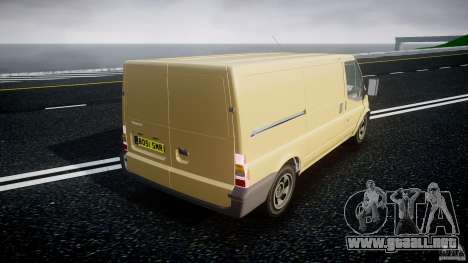 Ford Transit 2009 para GTA 4 vista lateral