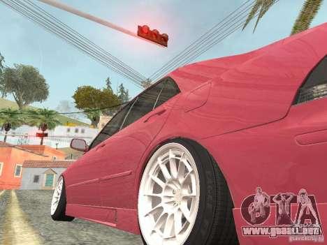 Lexus IS300 HellaFlush para la visión correcta GTA San Andreas