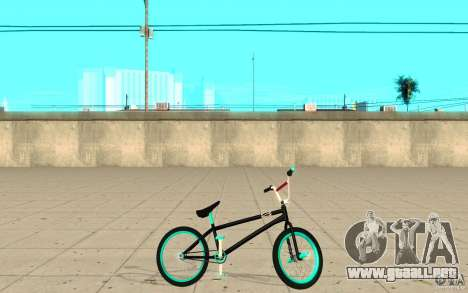 REAL Street BMX mod Black Edition para GTA San Andreas left