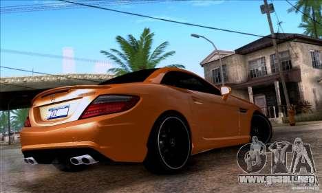 Mercedes Benz SLK55 R172 AMG para GTA San Andreas left