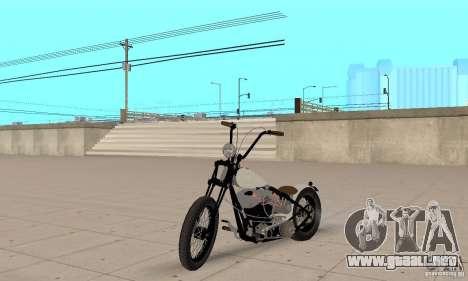 HD Shovelhead Chopper v2.1-mate para GTA San Andreas