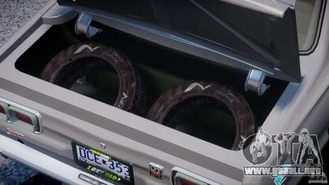 Nissan Skyline Hakosuka (KPGC10) Mountain Drift para GTA 4 vista hacia atrás
