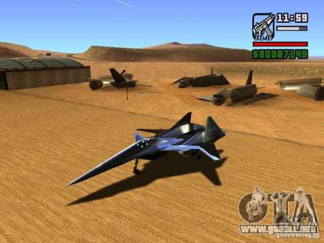 ADF01 Falken para GTA San Andreas left