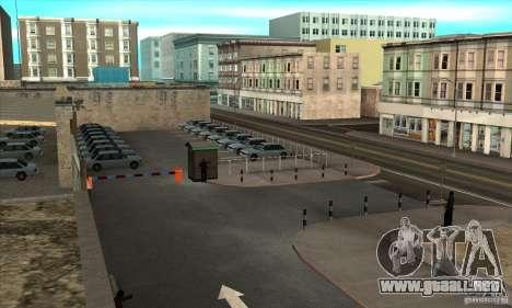 Renovación de autoescuelas en San Fierro para GTA San Andreas