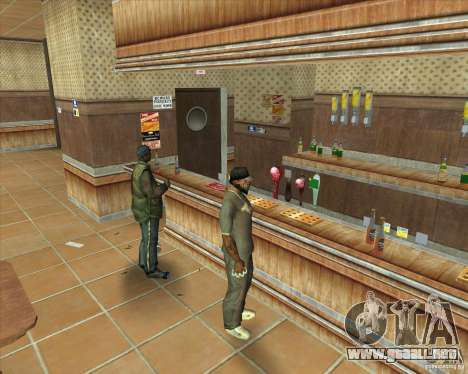 Salierys Bar para GTA San Andreas séptima pantalla