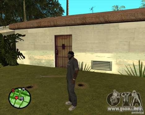 Tridente para GTA San Andreas tercera pantalla