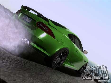 Jaguar XKR-S 2011 V2.0 para el motor de GTA San Andreas