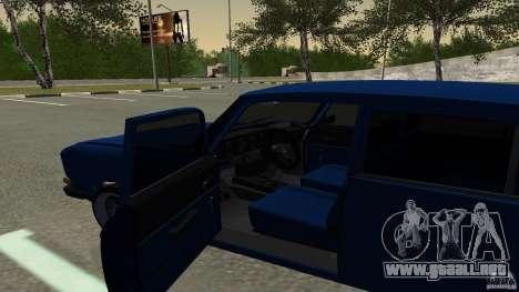 Moskvich 2140 para la visión correcta GTA San Andreas