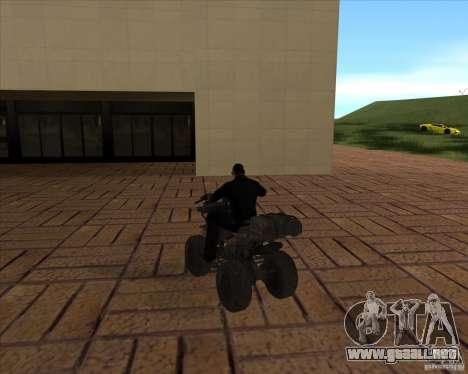 CoD MW 3 quadro para GTA San Andreas vista posterior izquierda